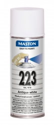 Sprayfärg Maston 100 - 223 Antikvit 400ml