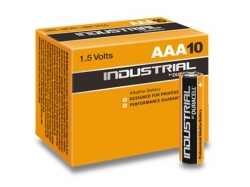 Batteri Duracell Industrial LR03 (AAA) 10 st/fp