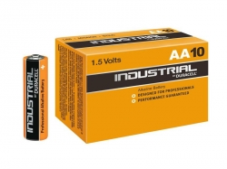 Batteri Duracell Industrial LR6 (AA)  1,5v, 10-pac