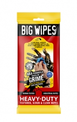 Big Wipes Servett Industri Flat Pack 20st/fp 30fp/krt