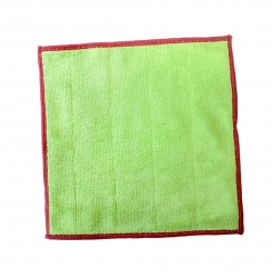 Microduk premium duo cloth green/red